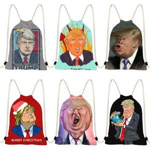 Şeffaf Trump Sırt Çantası 2020 newset Moda Eşarp Vahşi Çanta Retro Küçük Yuvarlak Çanta # 915