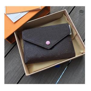 Di lusso di alta qualità di Marca Nuove Donne di cuoio hasp Portafoglio Breve coin Card Holder purse piccola borsa