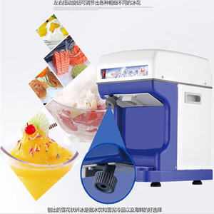 Factory Outlet Shaved Ice Maker Commercial Ice Shaver Planer machine électrique continu rasage glace à vendre