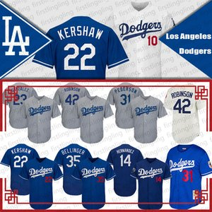 Dodgers Formalar 35 Cody Bellinger Clayton Kershaw Mookie Betts Beyzbol Enrique Hernandez Manny Machado Valenzuela Walker Buehler Robinson