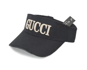 2020 novos designers chapéu de festa chapéu de golfe pala de sol sunvisor boné de beisebol top vazio bonés de protetor solar Ténis Praia elásticas chapéus transporte da gota