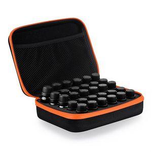 30 Şişeler 5 ~ 15Ml Uçucu Yağ Taşıma çantası Tutucu Depolama Parfüm Oje Kutusu Tutucu El Çantası Sıcak