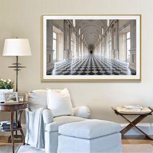 GOODECOR The Palace of Venaria 벽 Art Landscape Canvas Painting 대 한 Living 룸 Print 포스터 Picture Art 홈 장식