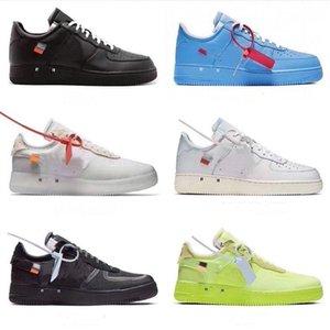2020 mens Forze 2,0 Running Shoes casual scarpe da tennis progettisti Off MCA Università Blue Sport Skateboard basso delle donne Chaussure scarpe US5.5-13