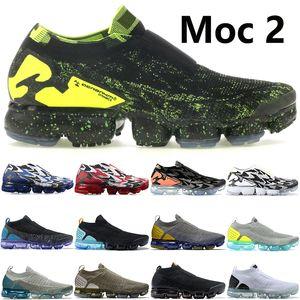 Moc 2.0 Akronym Schwarz Sail Licht Knochen Glimmer grün triple schwarz weiß Mensschuhe Frauen Kissen Trainers läuft US5.5-11