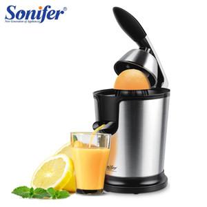 Из нержавеющей стали лимон оранжевый электрические соковыжималки 160 Вт соковыжималка свежий сок бытовых Sonifer