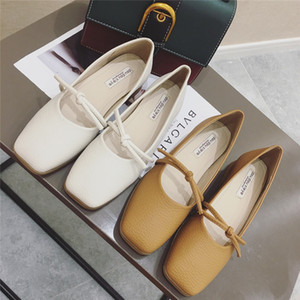 Vendita calda-2019 Singolo grossista Joker Fairy Student Mary Jane Shoes Girls With Grandma Shoe Donna
