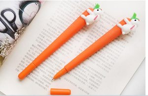 Kawaii Pen Creative Carrot Bunny Lovely Pen Student Stationery for DIY Scrapbooking Office School Supply