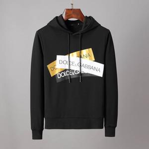 2020 Mens Suéter Hombre Marca Deisgner camiseta de manga larga con capucha de lujo de diseño de ropa bordado de la letra los géneros de punto de Invierno