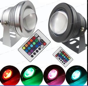 Impermeabile lampadina inondazione del LED ad alta potenza della lampada 10W LED Luce subacquea 12v 110v AC 85-265V RGB / changeble proiettore esterno