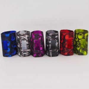 Wismec RXMini RX Mini 80 W MOD Kit Tête De Crâne Housse En Silicone Peau Couverture Pochette Sac Gel De Silice Coquille de protection Vente chaude pour Wismec RXMini MOD
