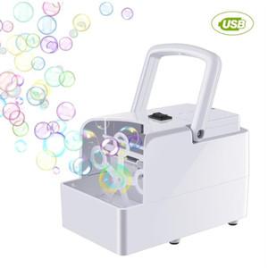 Machine à bulles automatique Bubble ventilateur Birthday Party mariage Bubble Maker été en plein air jouet pour enfants Dropshipping
