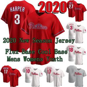2020 New Season Bryce Harper Jersey JT Realmuto Rhys Hoskins Didi Gregorius Aaron Nola Zack Wheeler Zack Wheeler David Robertson Jay Bruce