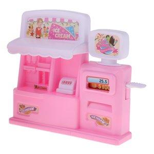1 12 Dollhouse Miniature Ice Cream Machine Model Kids Child Pretend Play Toy