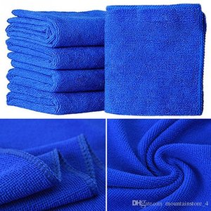 Newly Microfibre Cleaning Auto Soft Cloth Washing Cloth Towel Duster Blue Soft Absorbent Wash Cloth Car Auto Care