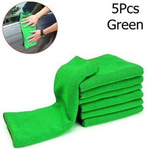 5Pcs New Cloths Cleaning Duster Microfiber Car Wash Towel Auto Care Detailing New Cloths Cleaning Duster Microfiber Wash