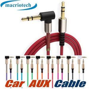 3,5 mm Stecker auf Stecker Audio Kabelbuchse 3 5 Aux Kabel für iPhone Samsung Auto MP3 / 4 Kopfhörer Handy Lautsprecher Aux Kabel Draht