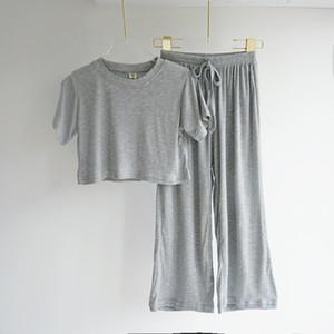 INS Été Nouvelle arrivée Fashion Girls 2 Pieces Costume Top + pantalon qualité coton blanc Enfants bretelles Ensembles Pantalons layette