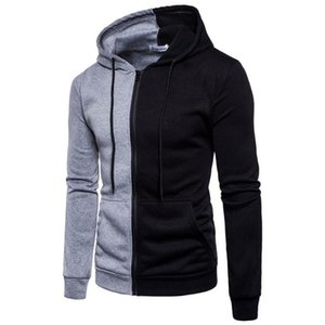 Men Hoodies 2020 Autumn New Male Splice Simple Casual Pullover Hoodies Mens Sweatshirts Hoodie Top Sportswear EU Size S-2XL