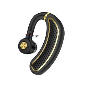 K21 mains libres Bluetooth 5.0 écouteurs sans fil Bluetooth affaires Casque Oreillette écouteurs avec micro pour le conducteur Sport Bureau