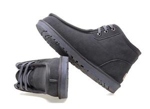 TOP AUS Diseño clásico corto Beckham Hombre Mujer bota de nieve Marca Girl populares Botas de cuero genuino Botas de nieve de moda zapatos