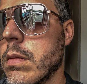 JackJad Yeni Moda MACH BEŞ Stil Gradient Havacılık Güneş gözlüğü Kadınlar Erkekler Vintage Marka Tasarım Güneş Gözlükleri 2190