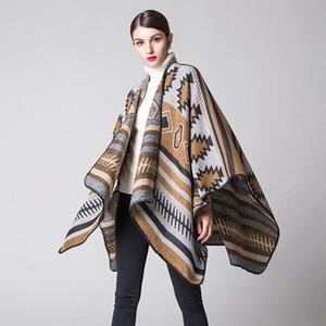 Bohem tarzı Cloak Basit Dış Ticaret Kıvam arttırıcı ve Uzatma Seyahat 2019 invierno Isıtma Abrigos mujer için Battaniye