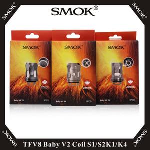 Vape smok TFV8 طفل v2 لفائف s1 s2 k1 k4 استبدال النوى ل TFV8 طفل v2 خزان 100٪ الأصلي