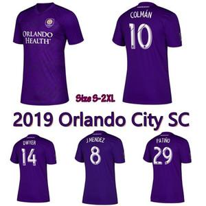 Thai Orlando City SC Jersey Calcio NANI DWYER Akindele MUELLER MOUTINHO RUAN Kljestan JOHNSON per bambini di calcio Corredi uniformi degli uomini di alta qualità