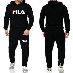 Nuovo Inverno uomini tuta tute di alta qualità Autunno Moda Uomo Jogger Suits Jacket + ansima gli insiemi Sporting Completi donna Hip Hop Set