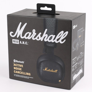 Marshall MID ANC Bluetooth Casque antibruit actif sans fil DJ casque Deep Bass Gaming Headset pour iPhone téléphone intelligent