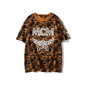Moda nuevo ángel de impresión chico / chica remata las tes del verano 100% algodón marca de ropa camiseta