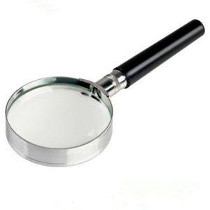 FAROOT Ampliação Handheld 10x Magnifier 2 polegadas Lupa 50 milímetros Handle
