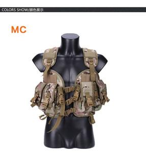 Su Çanta ile Taktik Yelek Kamuflaj Ordu Combat Vest Açık Spor