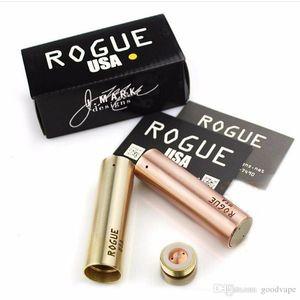 Новейшие модные электронные сигареты Rogue Mod Латунная медь Версия Seiko Тонкая резьба 24 мм Высокое качество Адаптация к распылителю Kennedy 528 DHL