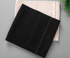 Women waist cinchers slimming belt woman shapers hollow out breathable shapers 6 line 13 buckles A166