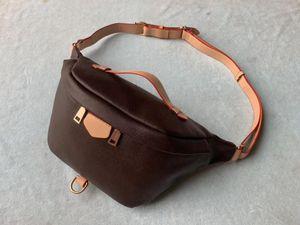 Nueva mujeres de los bolsos diseñador Bolsa de cintura paquetes de Fanny del bolso de los bolsos señora de la correa del pecho famoso de la marca de las mujeres con 2 tiras