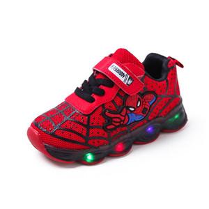 Led luminous Kids Shoes for boys girls Light Children Luminous baby Sneakers mesh sport Boy Girl Led Light Shoes