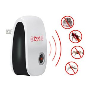 Électronique ultrasons anti moustiques insectes Repeller Rat Souris Cockroach Spiders Pest Reject Répulsif Pest Control UE / États-Unis / UK Plug DBC DHA139