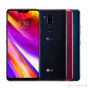 """wholesale Unlocked LG G7 ThinQ G710EM G710 64G 4G Snapdragon 845 LTE Android 8.0 Octa Core Rear Camera Dual 16MP 6.1"""" Mobile Phone"""