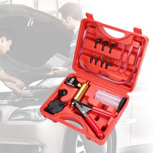 Car Brake Bleeder Bomba de vácuo Detector Tester Ferramenta Brake Fluid sangrador Oil Change Vacuum Pistol Kit