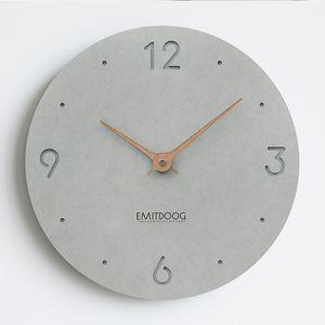 Çevre Koruma Duvar Saati Modern Tasarım Sessiz Rustik Duvar Saati Saat Ahşap Relogio De Parede Ahşap Dekor XX60WC