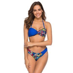 Sexy Strapless Bikini Set Two Piece Swimsuit Women Push Up Backless Swimwear High Cut Bathing Suit Female New Brazilian Biquini