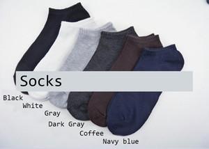 Mens Calcetines ocasionales activas del color sólido calcetines respirables 10 pares para hombre Deportes calcetín corto Zapatillas Calcetines Medias Ropa interior para hombre Accesorios1