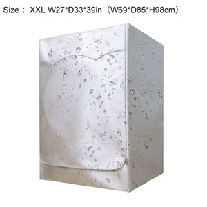 Household Waterproof Anti-dust Prevent Sunscreen Washing Machine Dryer Cover Other Household Cleaning Tools Accessories