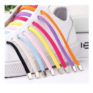 dei ragazzi pigri lacci delle scarpe di bloccaggio lacci delle scarpe senza lacci di scarpe cravatta Nuovo elastico blocco di sicurezza merletto pizzo elastico creativo