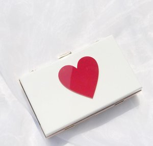 Designer Mulheres Flap Hangbag Luxo Lady Bolsa de Ombro Cadeia Moda corações brilhantes Bolsas Simples sacos de alta qualidade //