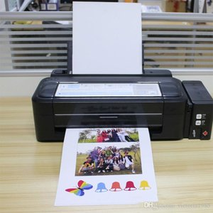 20 feuilles / lot A4 papier imprimante jet d'encre 21 * 29.5cm autocollant papier photo magnétique papier impression magnétique qualité colorée de sortie graphique