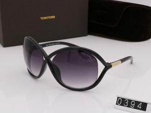 alta al por mayor Qualtiy nuevo de la manera 0394 el diseñador Tom gafas de sol para mujer del hombre Erika Gafas Ford caso Marca Gafas de sol con la caja original