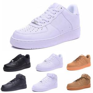 Nike Air Max 1 Flyknit Utility klassischen Männer Frauen Unisex niedrige Freizeitschuhe der Frauen der Männer ein 1 Weiß Stern-Plattform Sandalen Schuhe